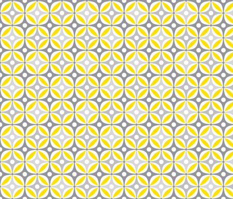 Lemon Peels fabric by dianef on Spoonflower - custom fabric