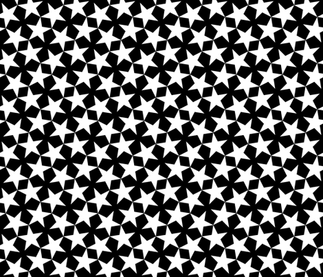 S43 CV1 stars 1 fabric by sef on Spoonflower - custom fabric