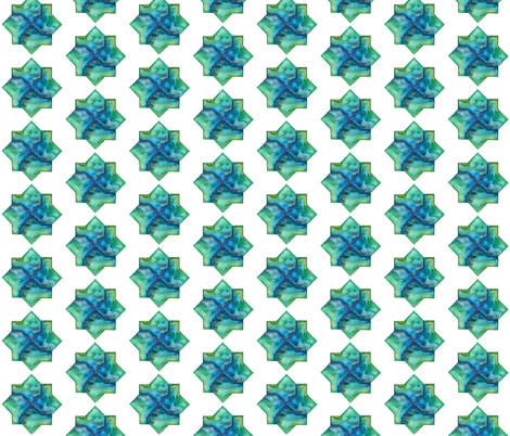 Al-Andalus Stars fabric by gemmacreativa on Spoonflower - custom fabric