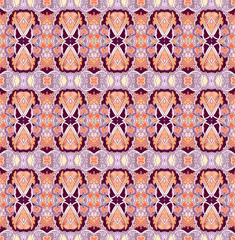 Calico Nouveau fabric by edsel2084 on Spoonflower - custom fabric
