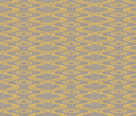 yellow_line_on_concete_single_mirror fabric by khowardquilts on Spoonflower - custom fabric