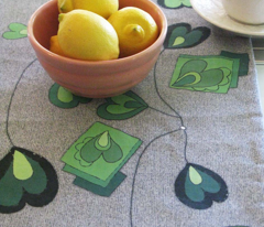 Surreal Vines Table Runner
