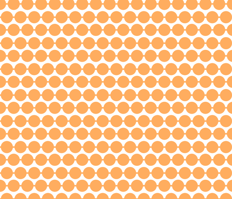 Dot_Tangerine fabric by walrus_studio on Spoonflower - custom fabric