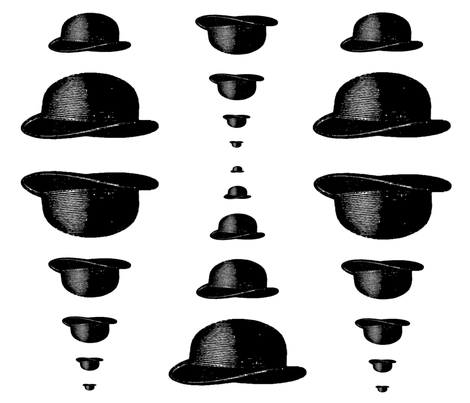 Henry's Hat  fabric by hollycejeffriess on Spoonflower - custom fabric