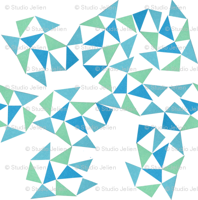 triangle bluegreen
