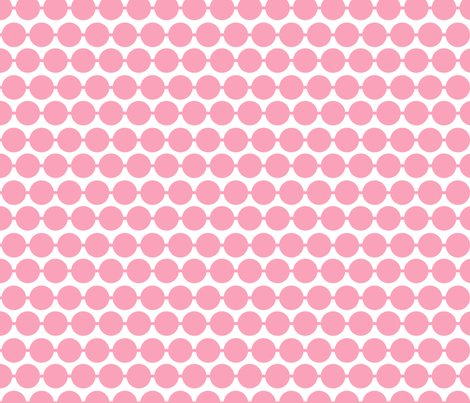 Dot_Pink fabric by walrus_studio on Spoonflower - custom fabric