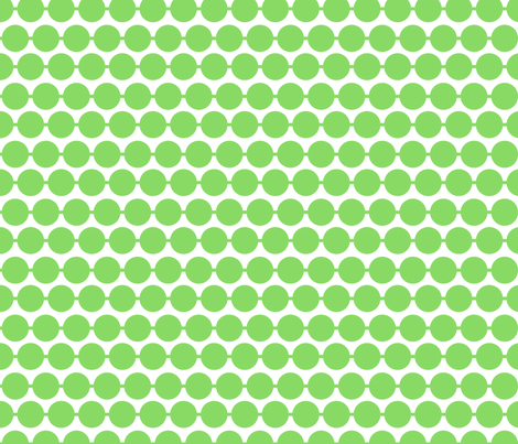 Dot_Green fabric by walrus_studio on Spoonflower - custom fabric