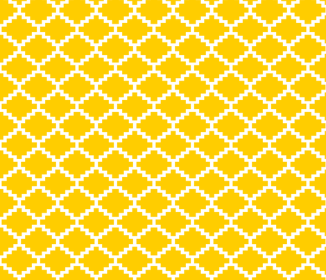 RickRack_Goldenrod fabric by walrus_studio on Spoonflower - custom fabric