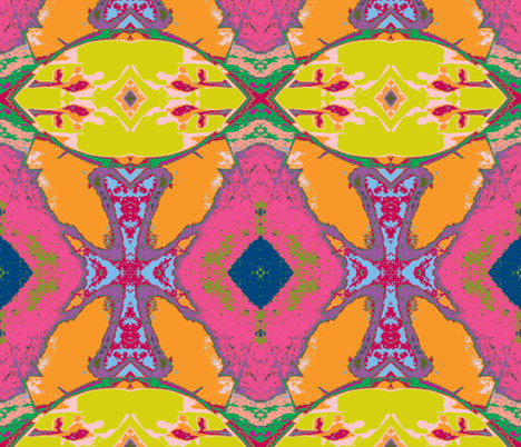 Criss Cross - the Smaller fabric by susaninparis on Spoonflower - custom fabric