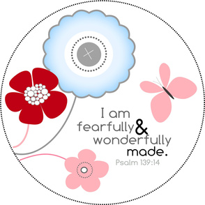 wall decal fearfully and wonderfully made
