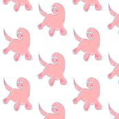 pretty pink dinosaur