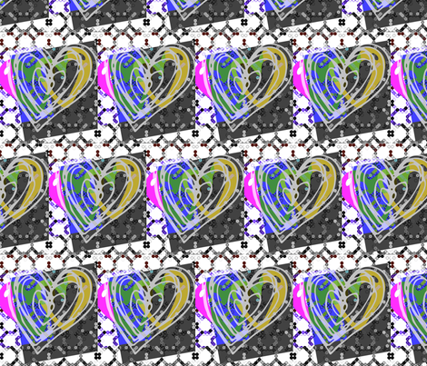 Hearty Party fabric by _vandecraats on Spoonflower - custom fabric