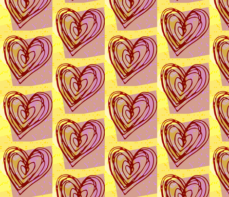 Heartsart_home fabric by _vandecraats on Spoonflower - custom fabric