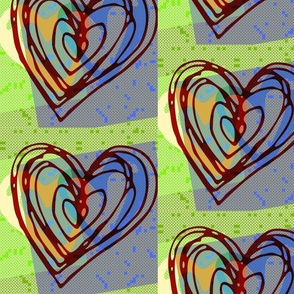 hearts_arty green