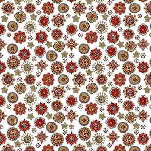 flower scatter