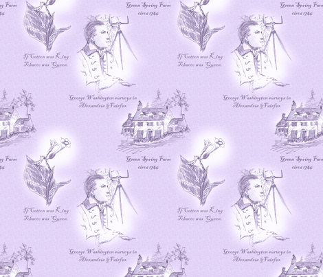 Annandale, Virginia - Mulberry Juice fabric by glimmericks on Spoonflower - custom fabric