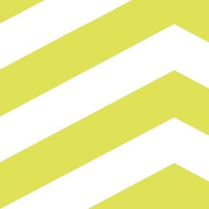 Chartreuse Chevron