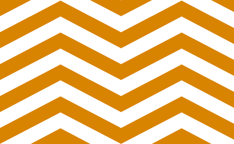 Orange and White Chevron fabric by mgterry on Spoonflower - custom fabric