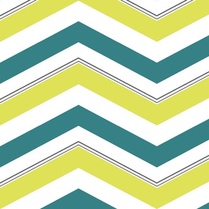 Mellow Spring Chevron