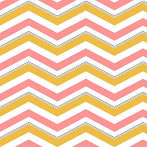 Cheery Spring Chevron