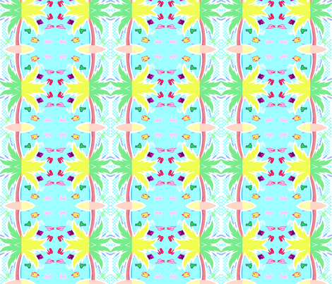 funnybeach_2 fabric by _vandecraats on Spoonflower - custom fabric