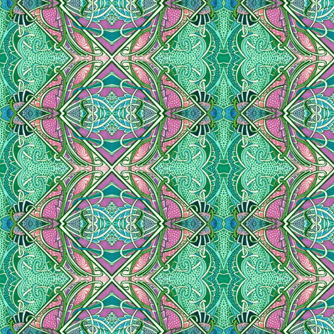 Zig Zag Fish Farm fabric by edsel2084 on Spoonflower - custom fabric