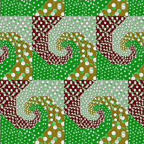 snails_trail_quilt_bright_retro_colors