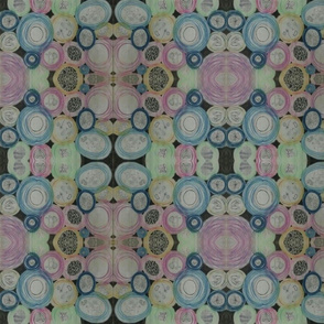 Fanciful Pastel Petri