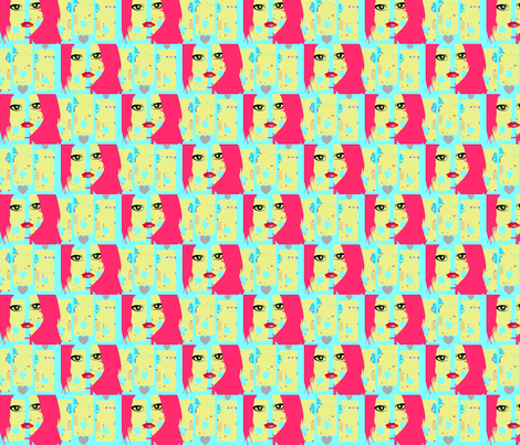 fabartgirl fabric by _vandecraats on Spoonflower - custom fabric