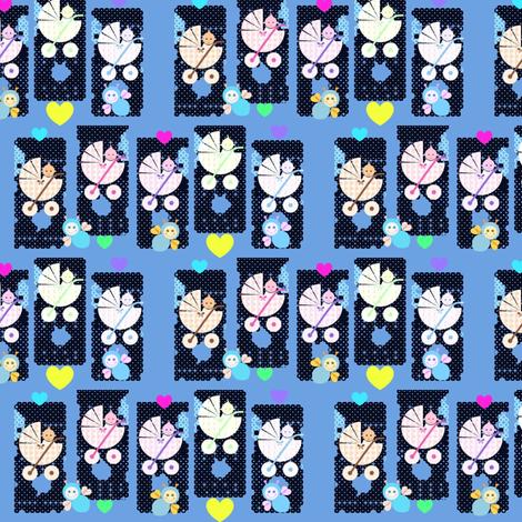 Baby_boom fabric by _vandecraats on Spoonflower - custom fabric