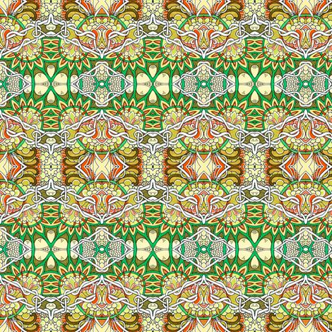 Tangled Harvest fabric by edsel2084 on Spoonflower - custom fabric