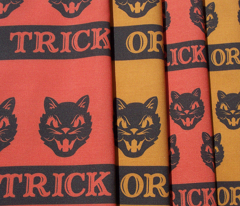 Trick or Treat ~ Cats (antique gold ~ variant no. 1)