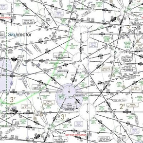 Aviation IFR Map