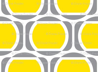 Zeke's Pattern - Yellow & Gray