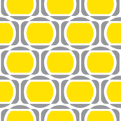 Zeke's Pattern - Yellow & Gray