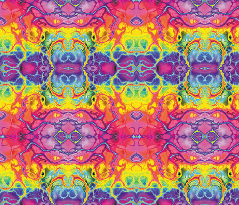 Fractal 16 fabric by animotaxis on Spoonflower - custom fabric