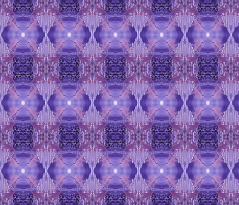 lavender mermaid fabric by krs_expressions on Spoonflower - custom fabric