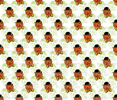 Dapper Pumpkin ~ Green Variant