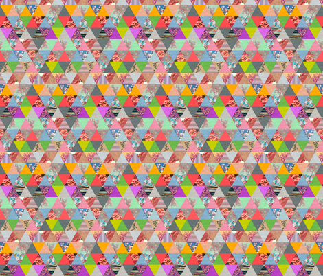 Lost in ▲ fabric by biancagreen on Spoonflower - custom fabric