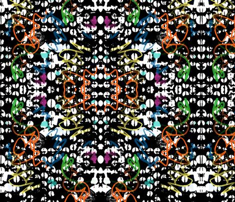 portland tags fabric by andibird on Spoonflower - custom fabric