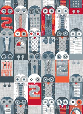 Tin Pot Owl-Bot