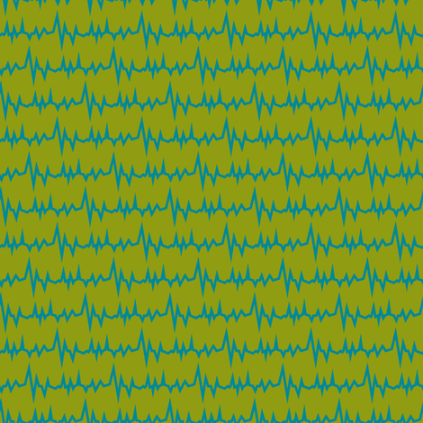 Robot coordinates - electricity - green fabric by coggon_(roz_robinson) on Spoonflower - custom fabric