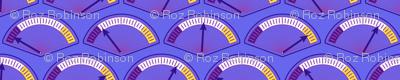 Robot coordinates - dials - dark purple