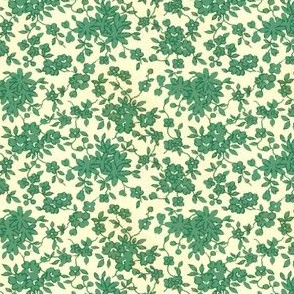 Tiny Floral - Green