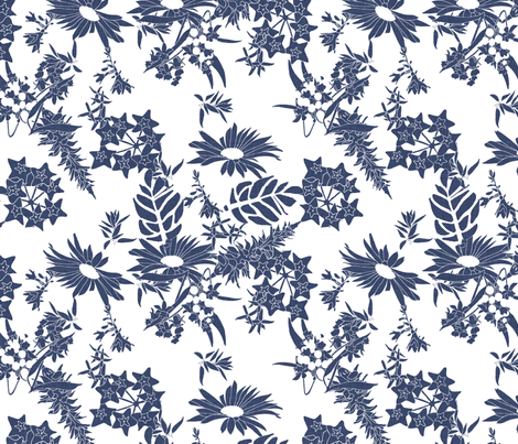 delft_toile fabric by holli_zollinger on Spoonflower - custom fabric