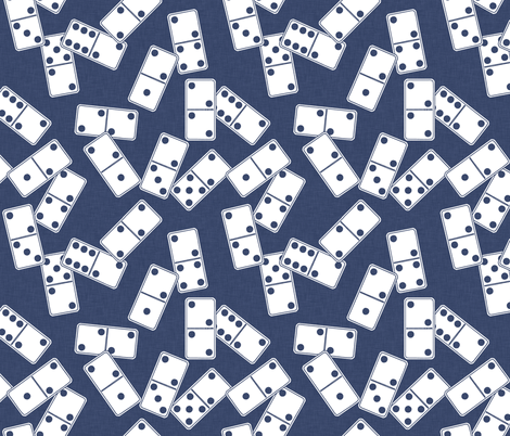 delft_dominoes fabric by holli_zollinger on Spoonflower - custom fabric