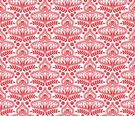 red_calleis fabric by holli_zollinger on Spoonflower - custom fabric