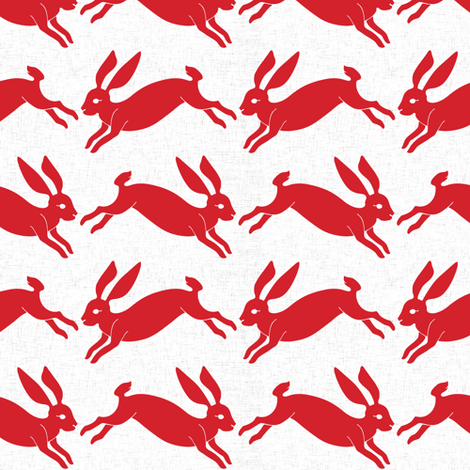 red_rabbit fabric by holli_zollinger on Spoonflower - custom fabric