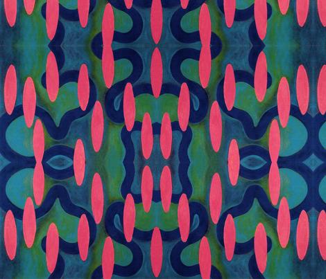 Rose Rhythm fabric by jamesmelcher on Spoonflower - custom fabric