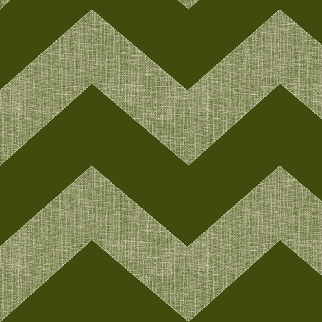chevron burlap / olive fabric by paragonstudios on Spoonflower - custom fabric